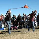 Manitou Springs Great Fruitcake Toss