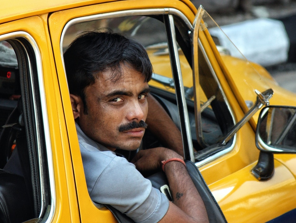 Going for a cab ride in Kolkata