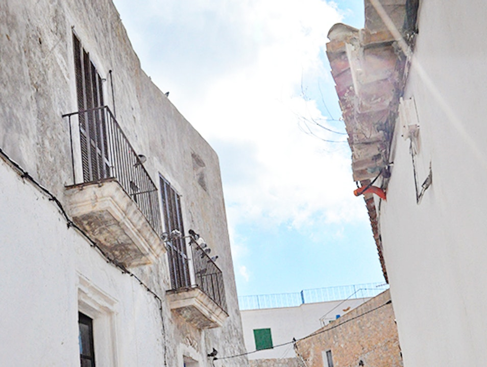 A Walking Tour of Ibiza Town Puig d'en Valls  Spain