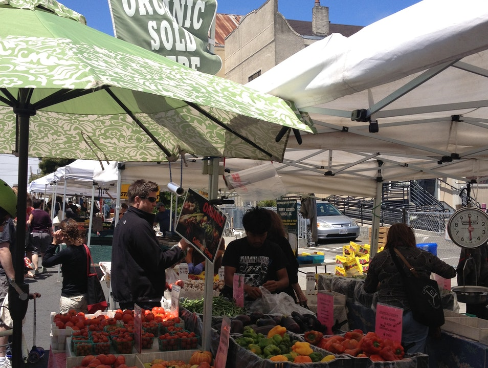 Sunday Farmers Market on Divisadero in San Francisco San Francisco California United States
