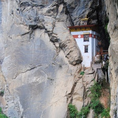 Meditation Hut, Tiger's Nest Monastery