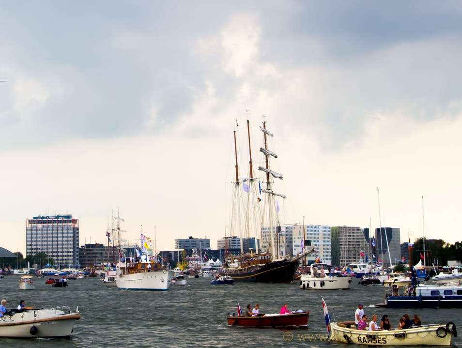 Get Free Shipping at Amsterdam's SAIL Celebration  Amsterdam  The Netherlands