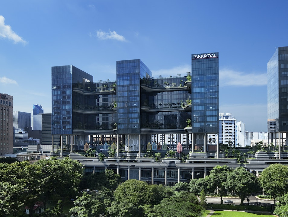 Parkroyal on Pickering Singapore  Singapore