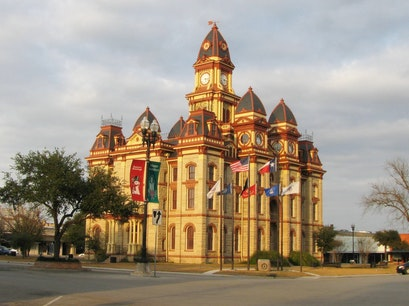 Caldwell County Courthouse Lockhart Texas United States