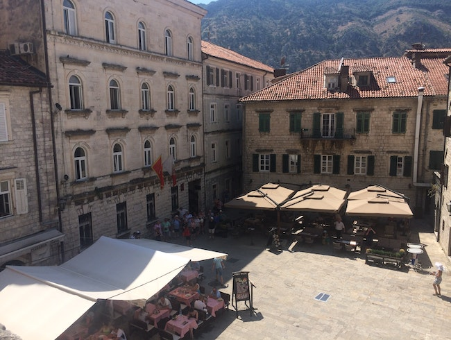 Balcony View of Kotor