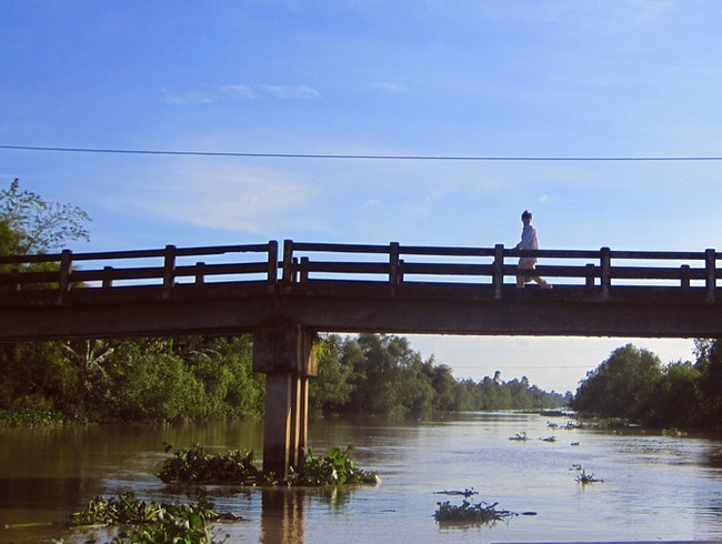 Exploring the Mekong Delta