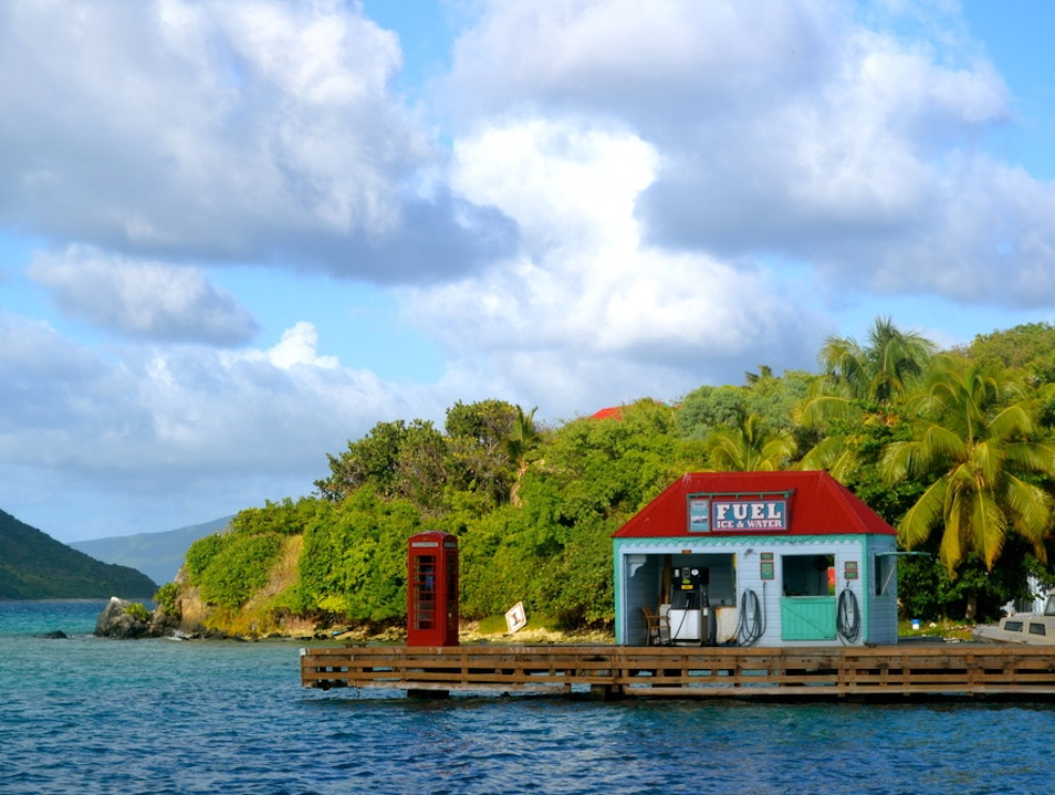 Discover Marina Cay in the BVI's