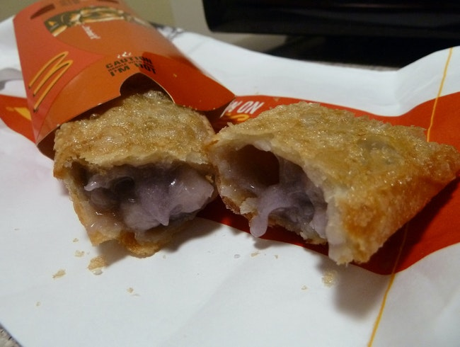 Sweet Taro Pie