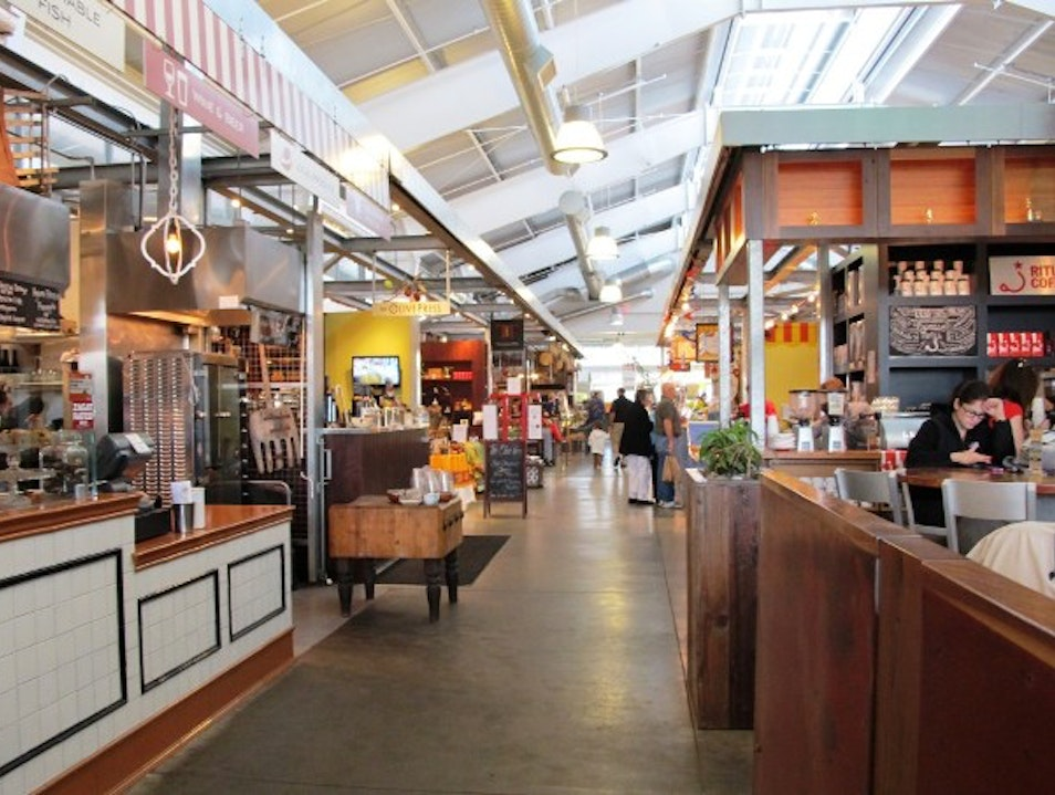 Foodie Heaven at Oxbow Public Market in Napa, California