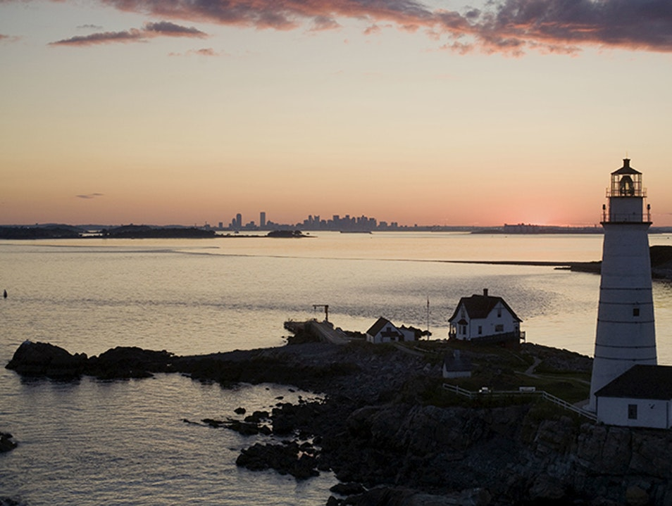 Boston Harbor Islands Hull Massachusetts United States