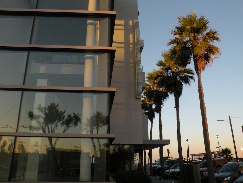 Cool hotel next to the beach San Diego California United States