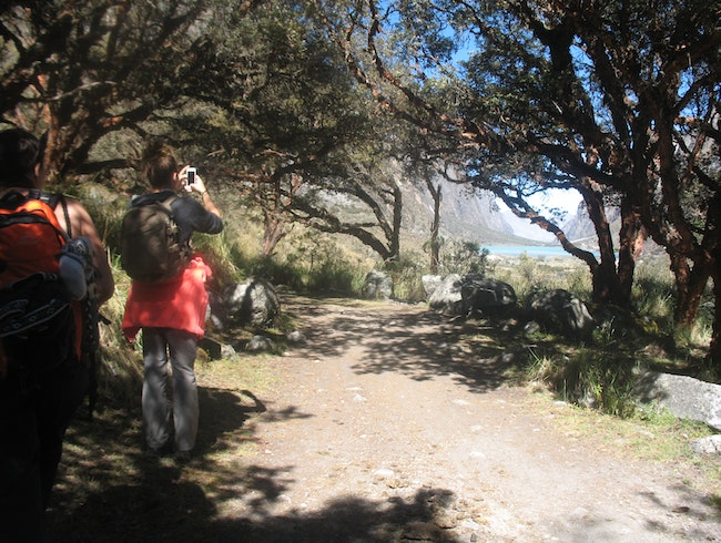 Santa Cruz Hiking Cordillera Blanca 4 days