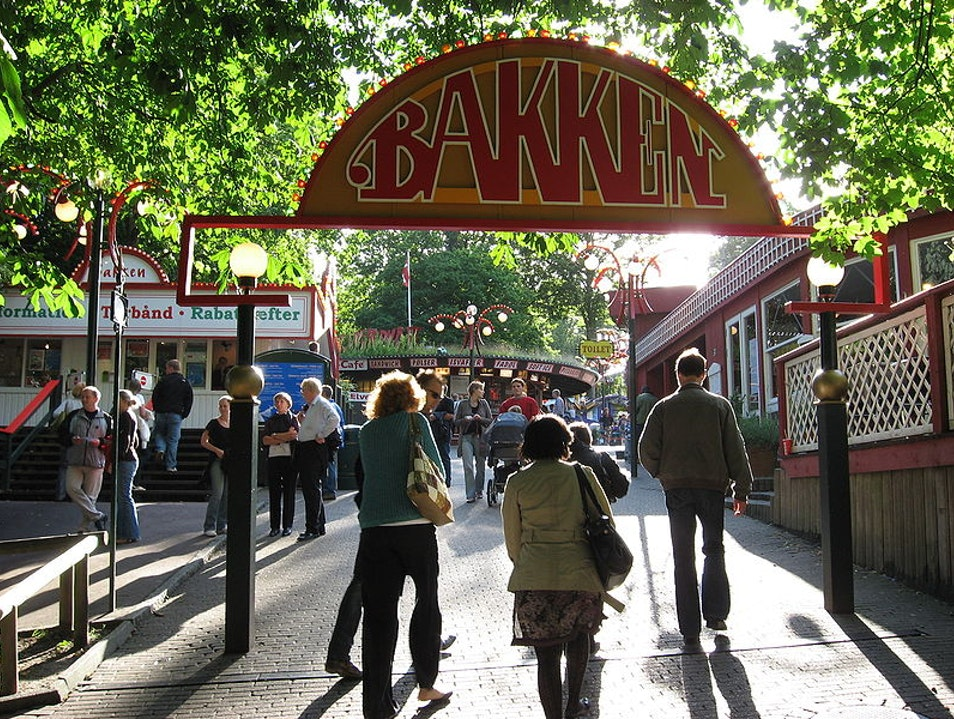 World's Oldest Amusement Park Copenhagen  Denmark