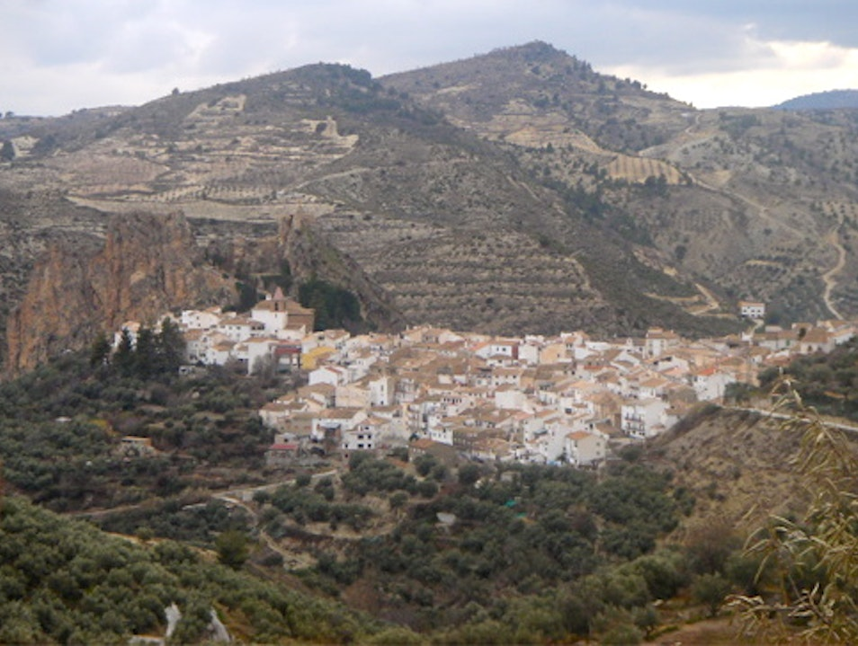 the lovliest Andalusian village Castril  Spain