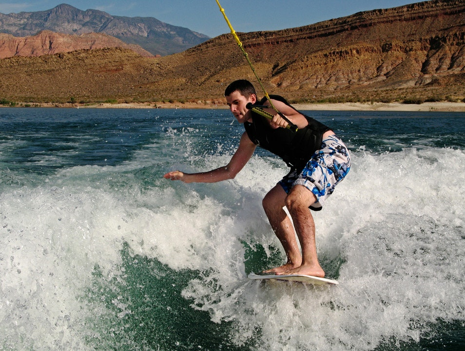 Surfing in Utah? Who knew?!