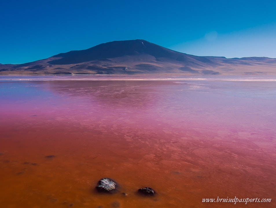 Exploring the deserts of Bolivia