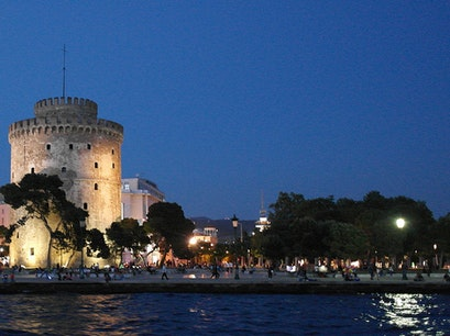 White Tower of Thessaloniki Thessaloniki  Greece
