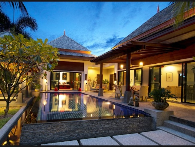 Indochine-chic retreat