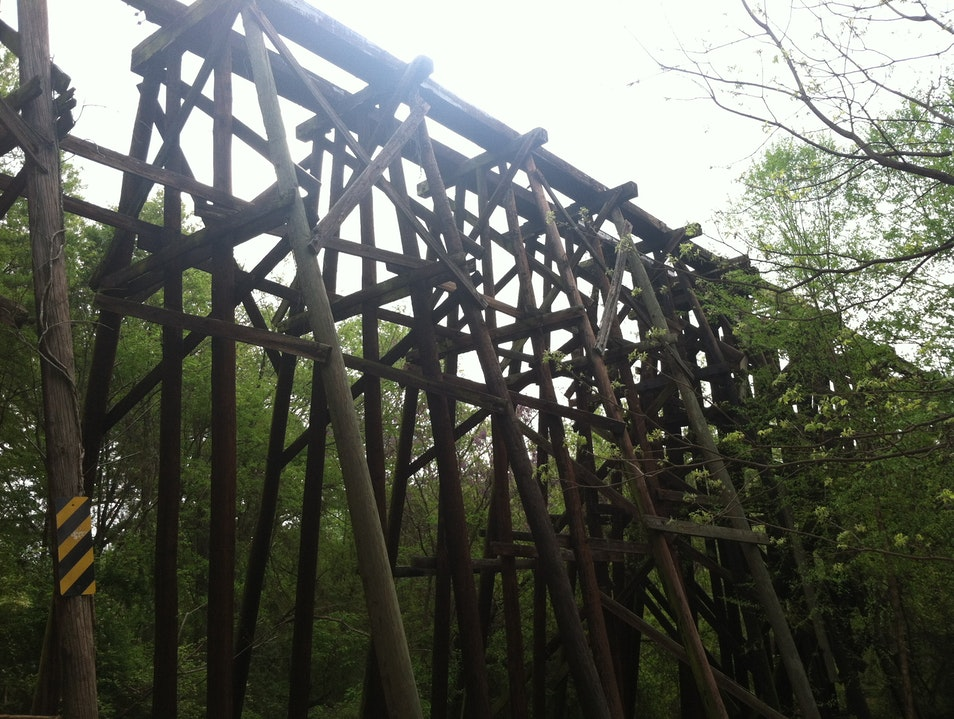 Railroad Trestle from R.E.M.'s 'Murmur' Album Athens Georgia United States