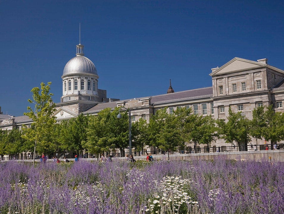 Bonsecours Market Montreal  Canada