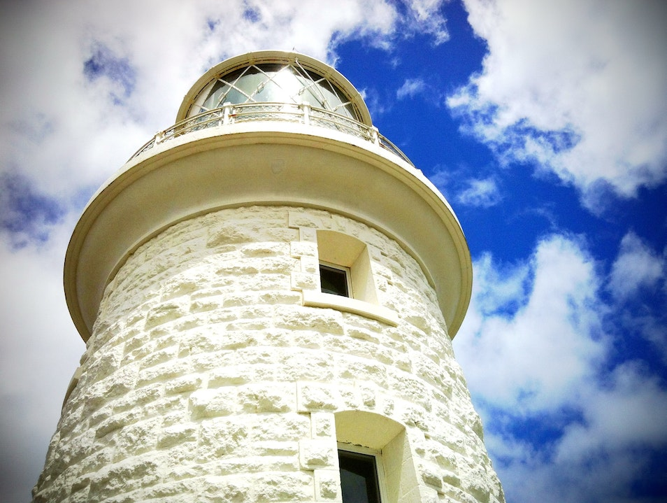 Short Lighthouse Tall Order Naturaliste  Australia