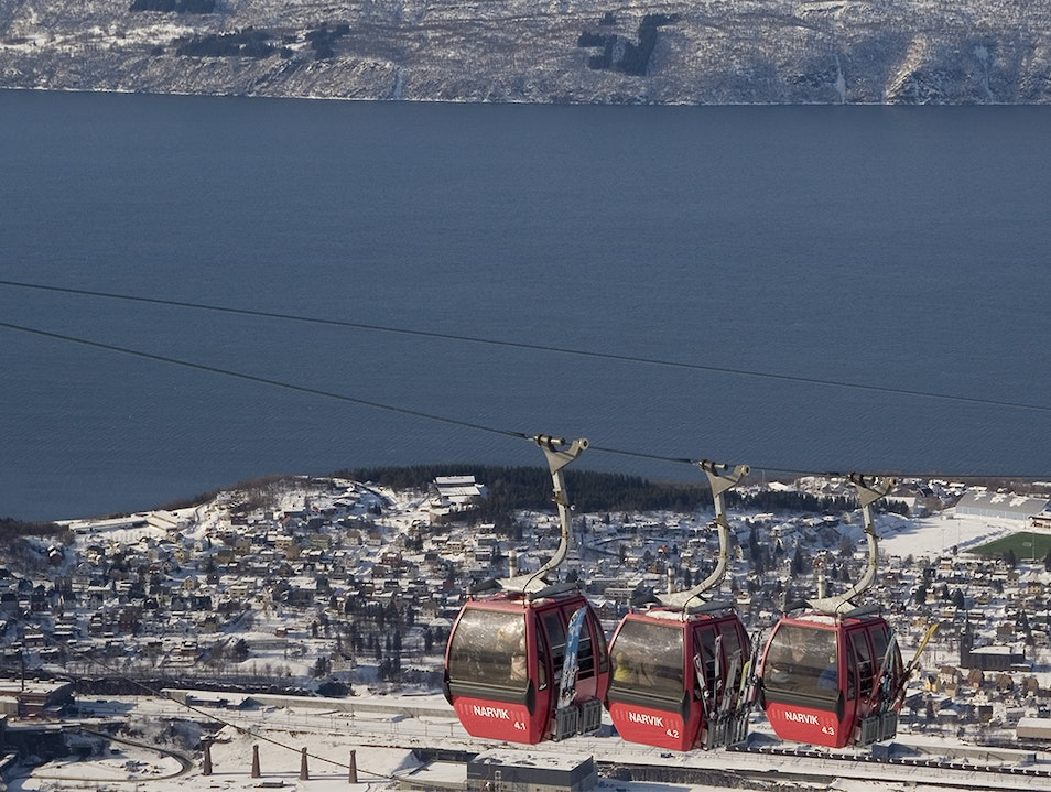 Narvik Cable Car Narvik  Norway