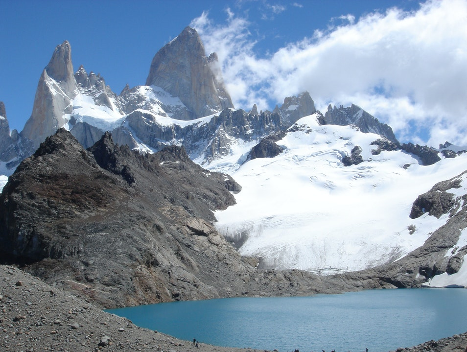 Great one-day Patagonian hike El Chaltén  Argentina
