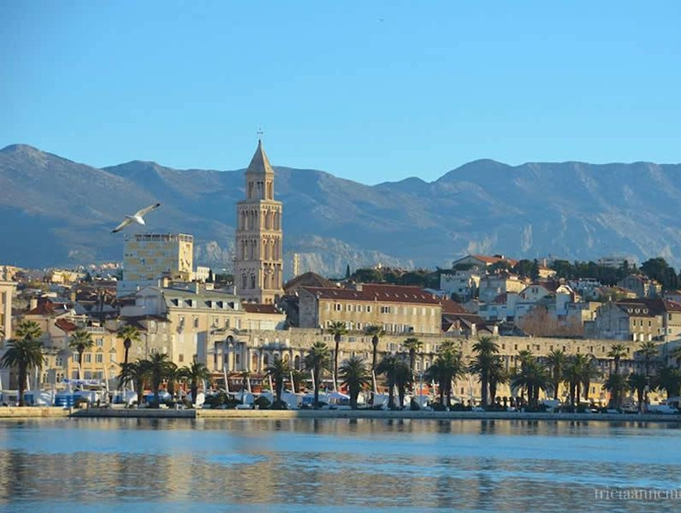 Take a Walking Tour of Diocletian's Palace in Seaside Split, Croatia Split  Croatia