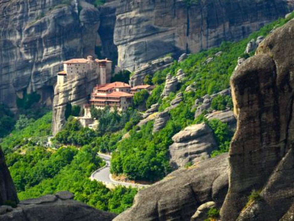 Relish the Sunset in Meteora, Greece Kalabaka  Greece