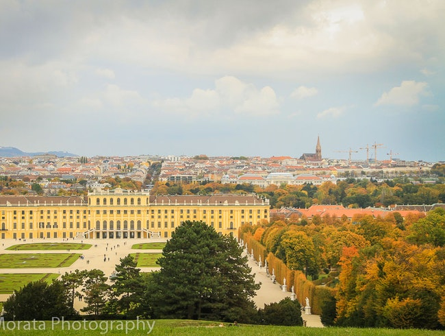 A fall visit to Schonbrunn