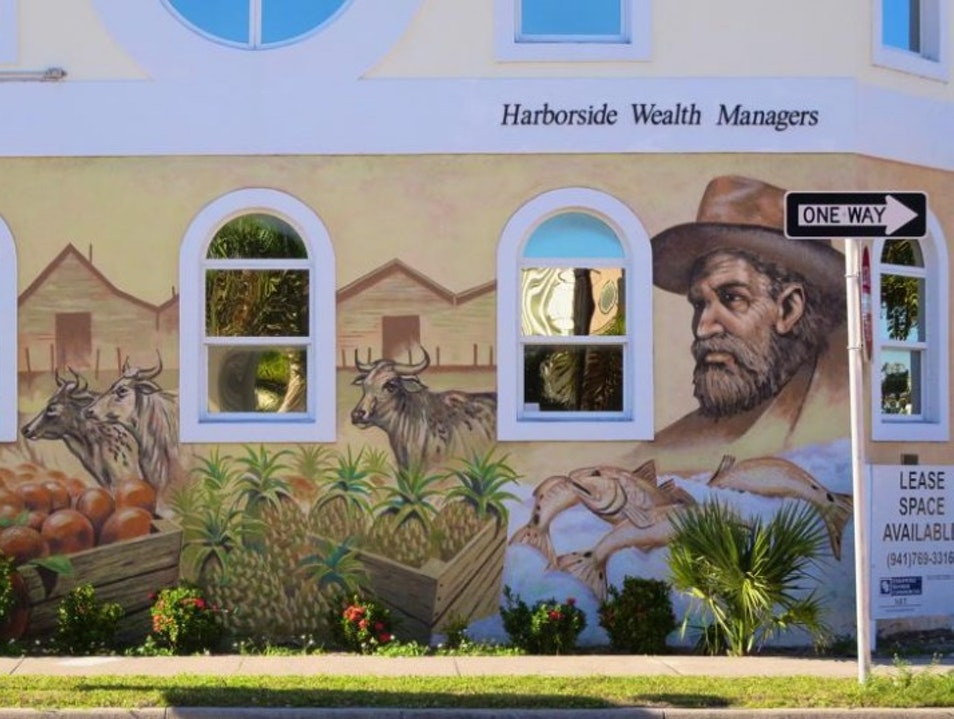 Murals of Punta Gorda: Postcards from the past Punta Gorda Florida United States