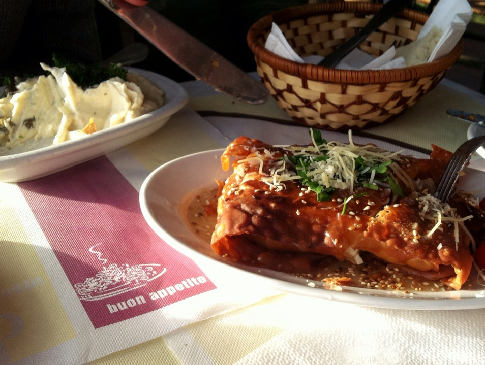 Fried Cheese In Greece