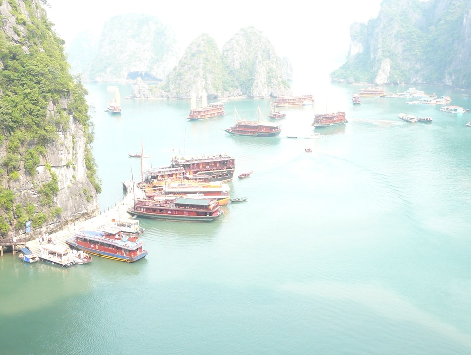Cruise Vietnam's Halong Bay on a Traditional Junk