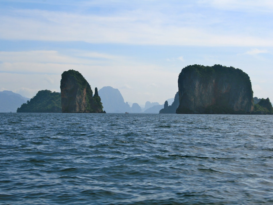Karst Islands in Phang Nga Bay Tha Yu  Thailand