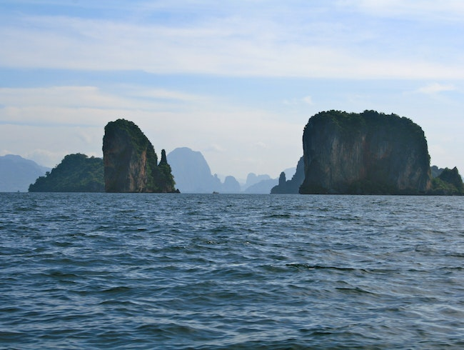 Karst Islands in Phang Nga Bay