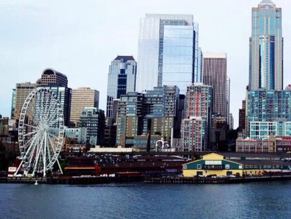Seattle Waterfront Attraction Seattle Washington United States