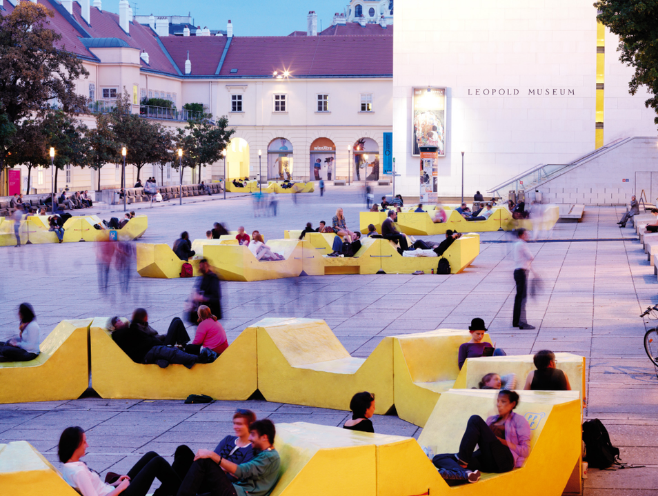 Check Out the MuseumsQuartier Wien