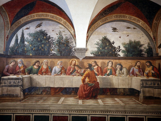 Ghirlandaio's Last Supper