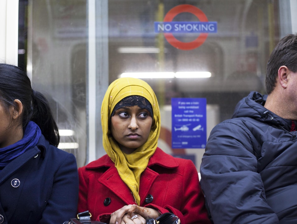 The people of the London Underground London  United Kingdom