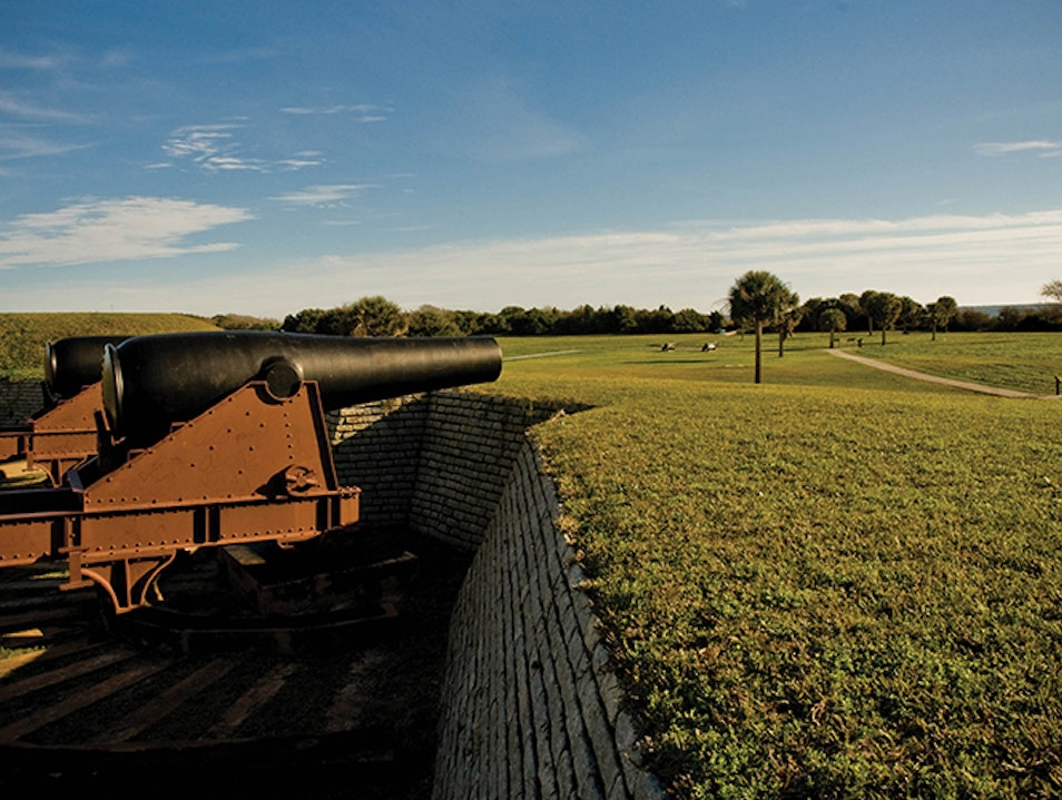 Fort Moultrie   Earth