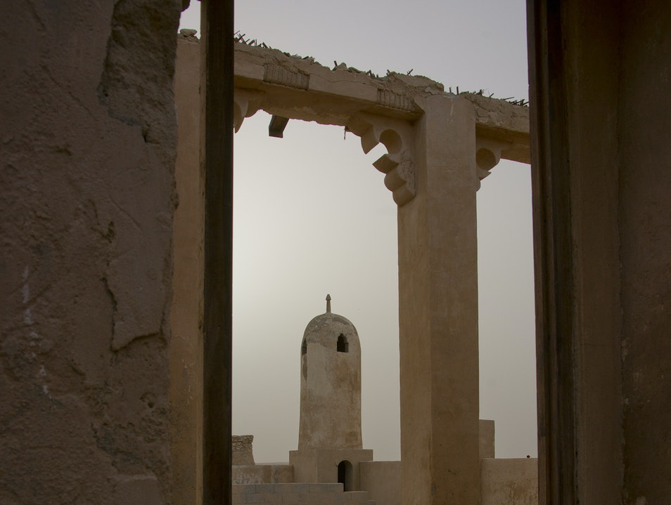 Abandoned Fishing Village, Northern Qatar Ash Shamal  Qatar