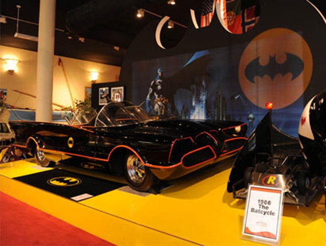 Check Out the Batmobile