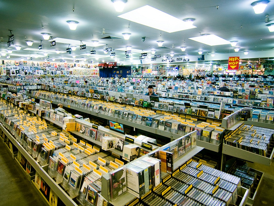 Amoeba Music's Vinyl Treasures   San Francisco California United States