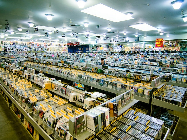 Amoeba Music's Vinyl Treasures