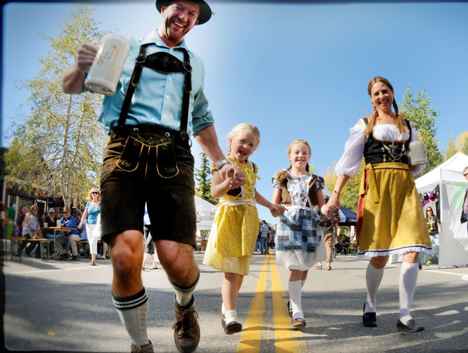 Breckenridge Oktoberfest Breckenridge Colorado United States