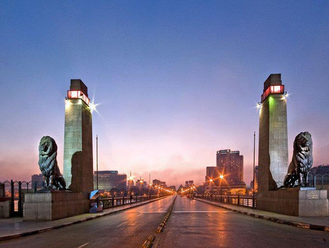 oldest bridge in Cairo
