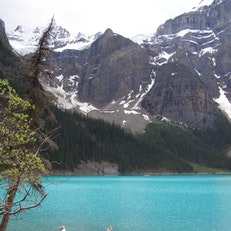 Lake Louise and the area