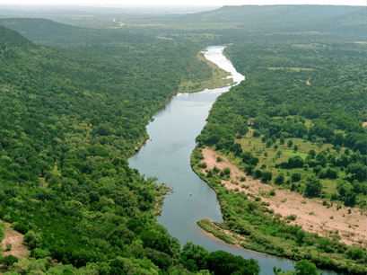 Brazos River, Mineral Wells Coryell County Texas United States
