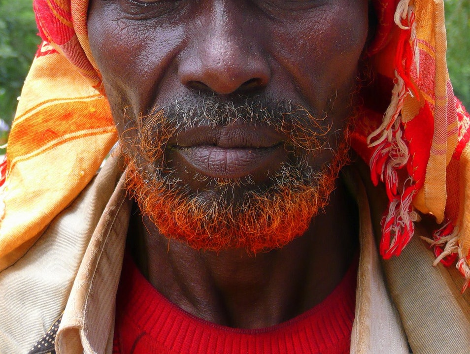 In which I lose the staring contest. Harar  Ethiopia