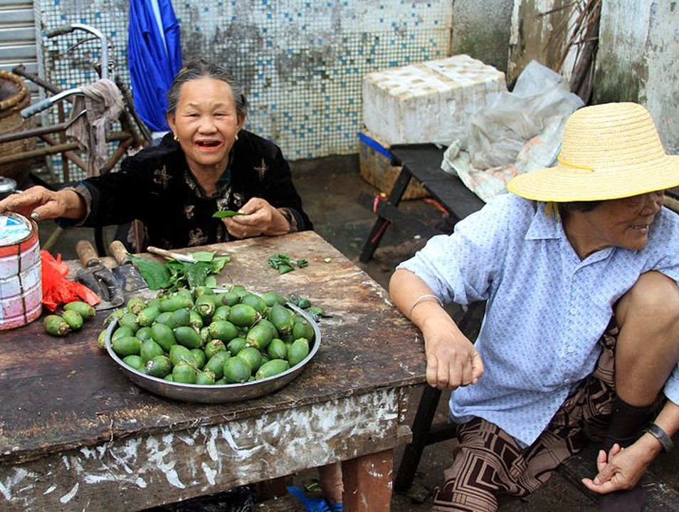 Try a Fresh Betel Nut Lingshui  China